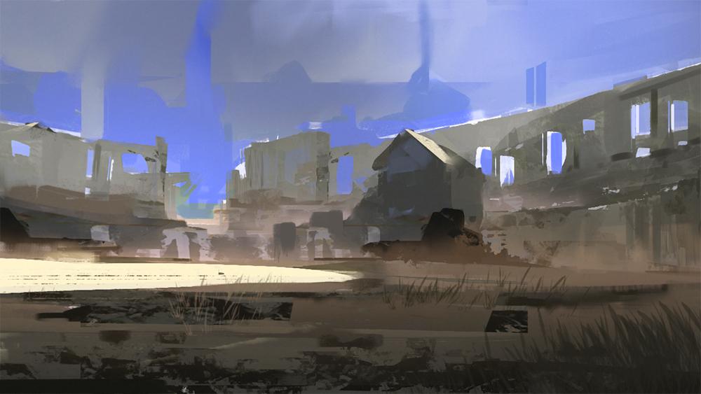 Spitpainting - Colosseum by SandroRybak