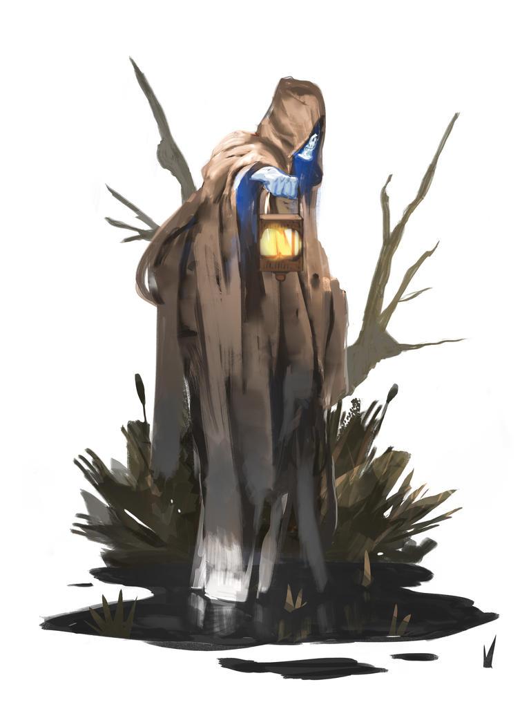 Swamp Ghost by SandroRybak