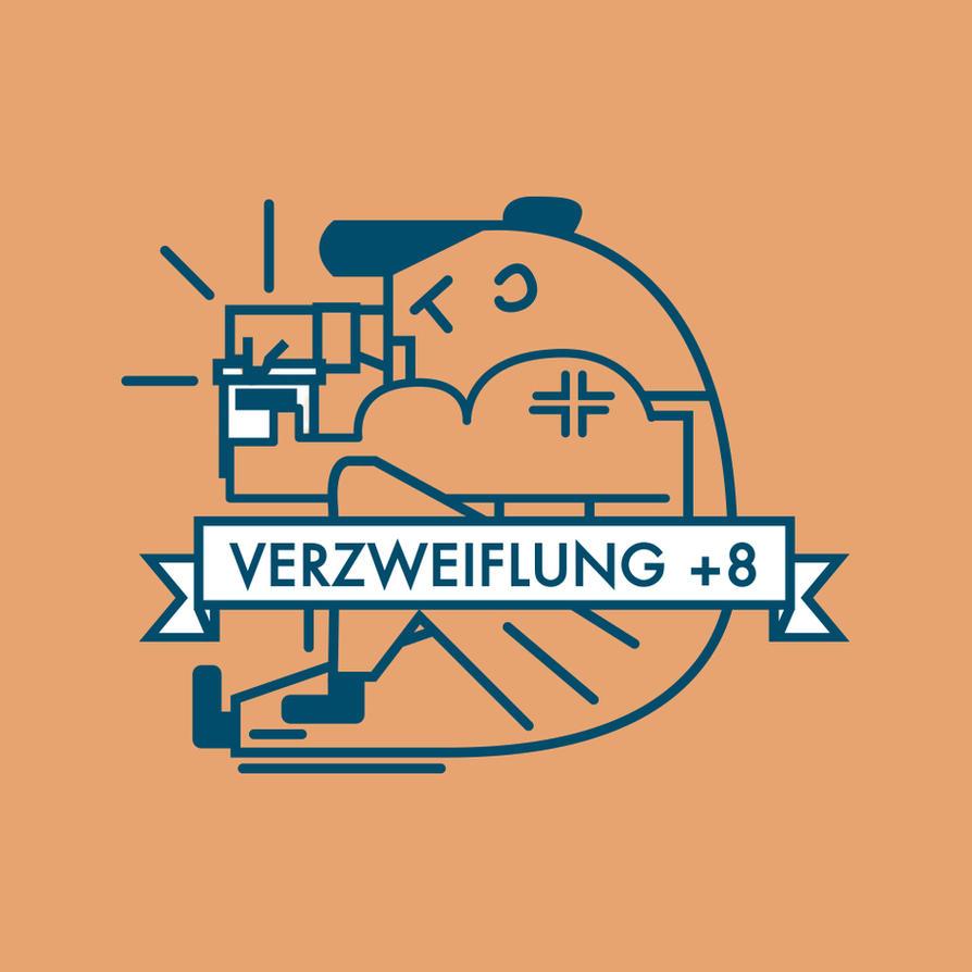 Despair +8/Verzweiflung+8 by SandroRybak