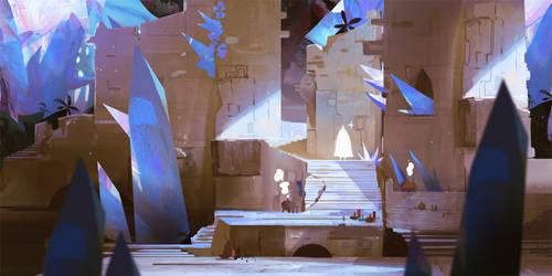 Ruins of the Hidden Crystal Village