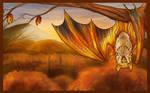 Patreon Wallpaper - October bat