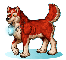 Red the Fairy Wolf