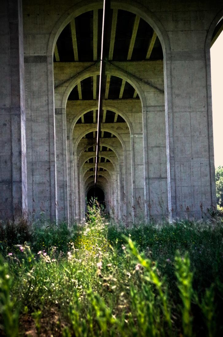 Under A Bridge by 2BeAFreeman