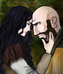 Not alone - Snow White and Grumpy OUAT by RunaMagus