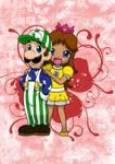 Mario : Luigi x Daisy