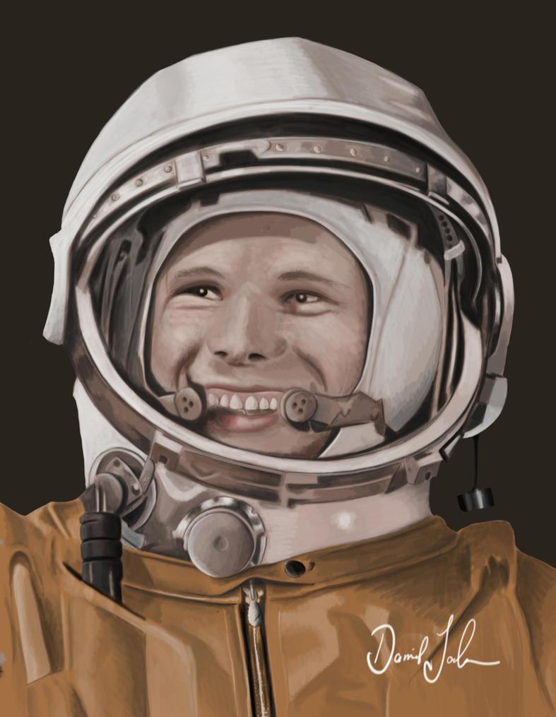 Jurij Gagarin by DocPrometheus