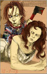 Curse of Chucky - Nica and Chucky... again