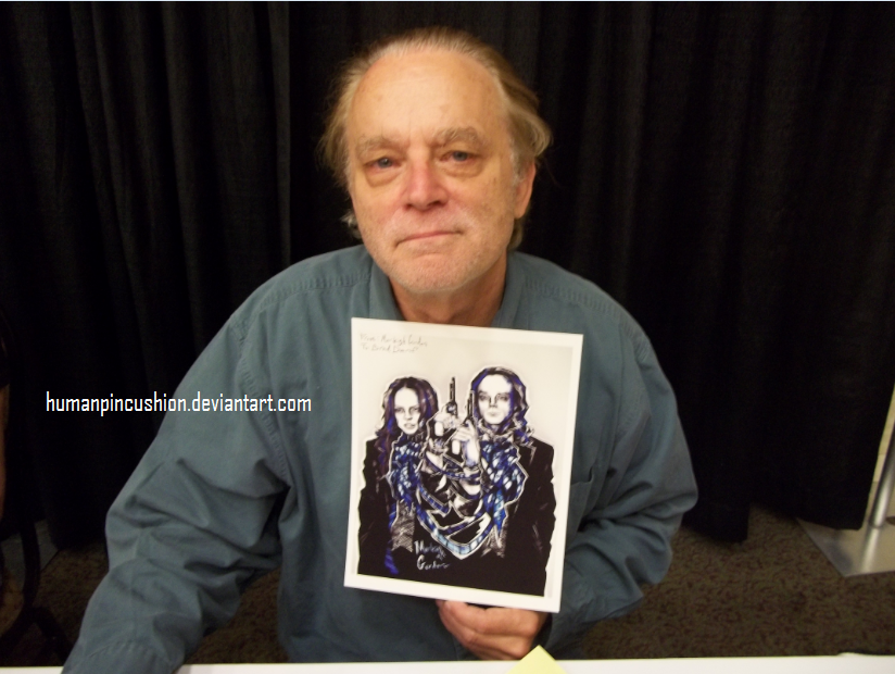 Brad Dourif at Spooky Empire by HumanPinCushion