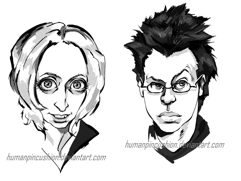 Caricatures by HumanPinCushion