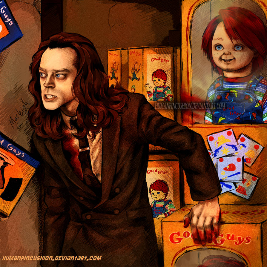 Child's Play -- Charles Lee Ray by HumanPinCushion on ...