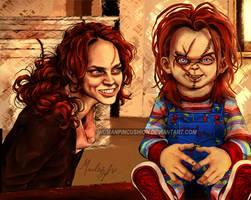 Curse of Chucky -- I'm still alive by HumanPinCushion