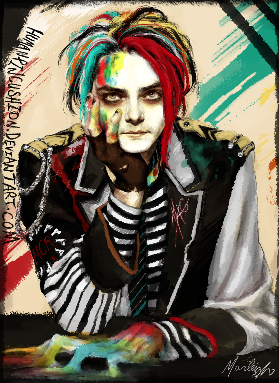 Gerard Way by HumanPinCushion on DeviantArt