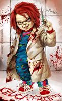 Chucky did it by HumanPinCushion