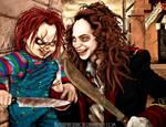 Chucky VS Bart Curlish
