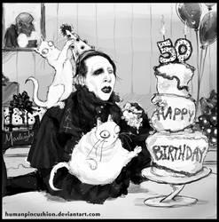 Happy 50th Birthday Marilyn Manson!