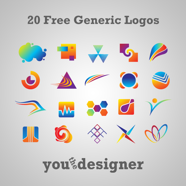 20 Free Generic Logos By Youthedesigner On Deviantart