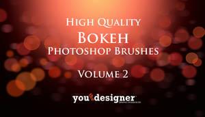 Free High Quality Bokeh Photoshop Brushes Volume 2