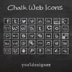 Chalk Web Icons