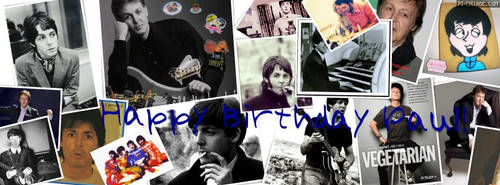 Happy Birthday Paul! by ElectricMayhem1