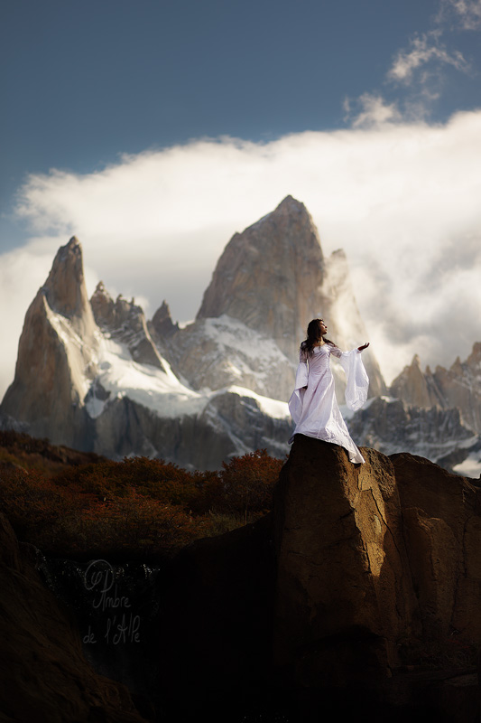 Fitz Roy. Mother Godess of the Wind by landscapes-flake