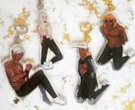 Dragon Age Elf Boy Wrap Key Chains by Ninapedia