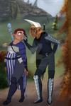 14DALovers: A Tender Caress by Ninapedia