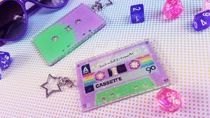 Rock n Roll Initiative - Cassette Key Chain