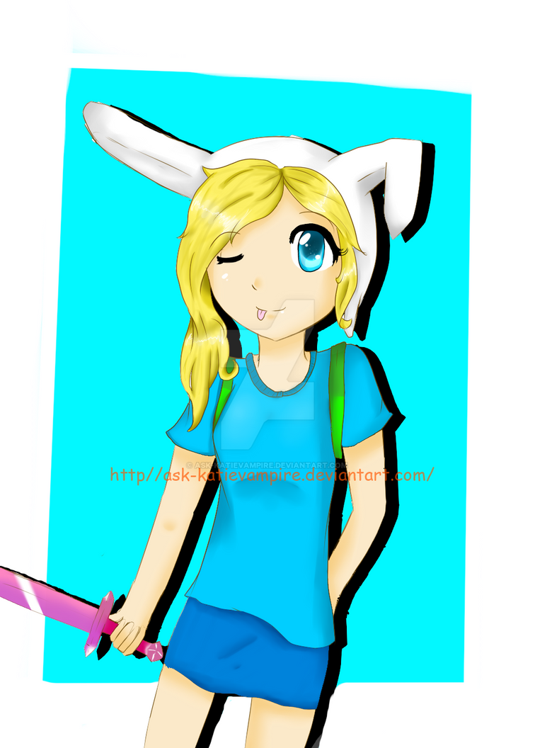 Fionna The Human by Ask-Katievampire