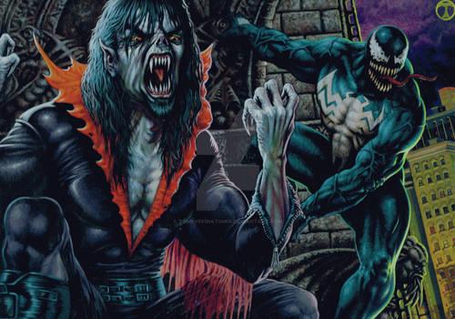Marvel Venom and Moebius