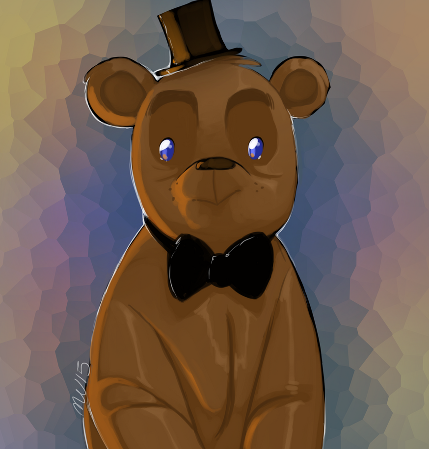 FNAF_ Chibi Freddy by Welcoming-Meg