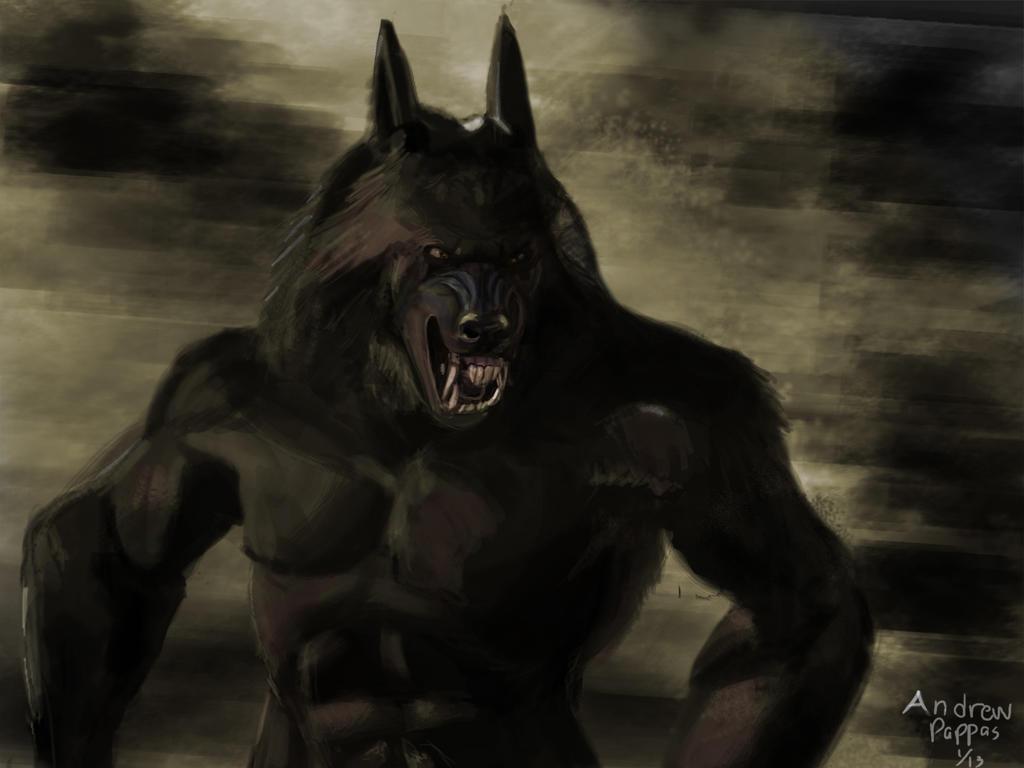 Van Helsing as Werewolf