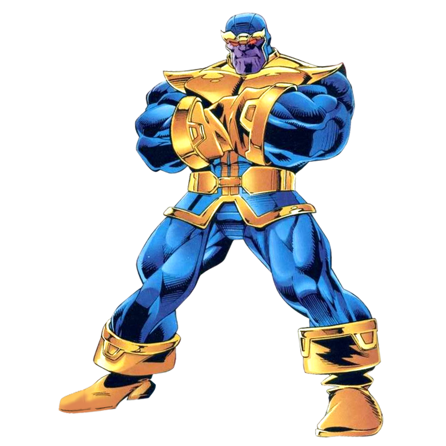 Anime Characters Vs Thanos : Thanos render by jayc on deviantart