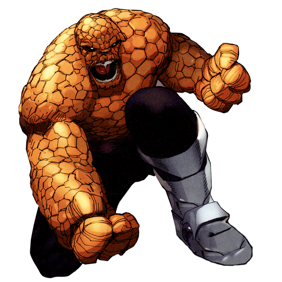 Thing from Fantastic Four by JayC79 on DeviantArt