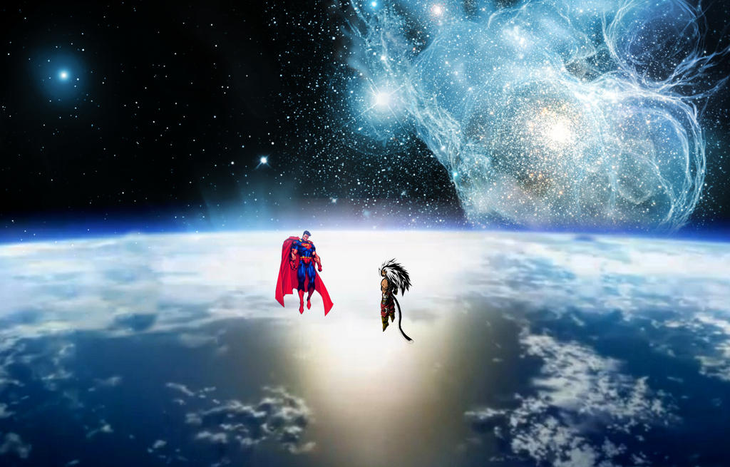 Son Goku vs Superman by JayC79 on DeviantArt