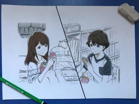 Tsuki ga kirei #1