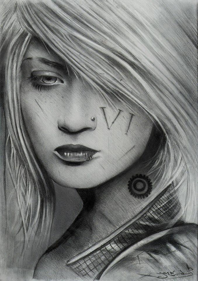 Vi / League of legends realistic artwork by vurdeM