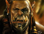 Warcraft / Durotan Fanart - 29.11.2015