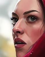 Red Riding Hood (2011) - Valerie portrait detail