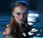 Gemma Ward Digital Painting