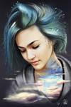 Asami Zdrenka Illustration - Sky