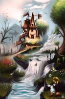 Kettle House Illustration by vurdeM
