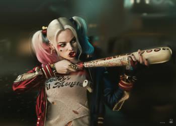 Harley Quinn by vurdeM