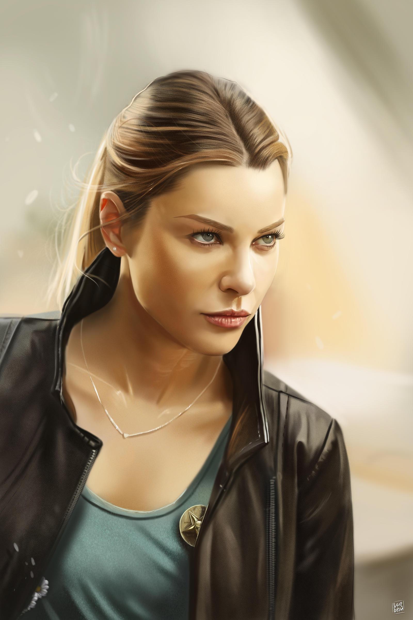 Lauren German by vurde...
