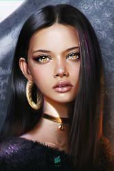 Marina Nery Portrait by vurdeM