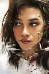 Portrait of Astrid Berges Frisbey /D.dream by vurdeM