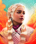 Daenerys Targaryen | Game of Thrones by vurdeM