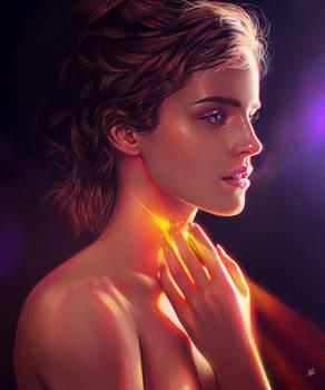 Emma Watson - Light study