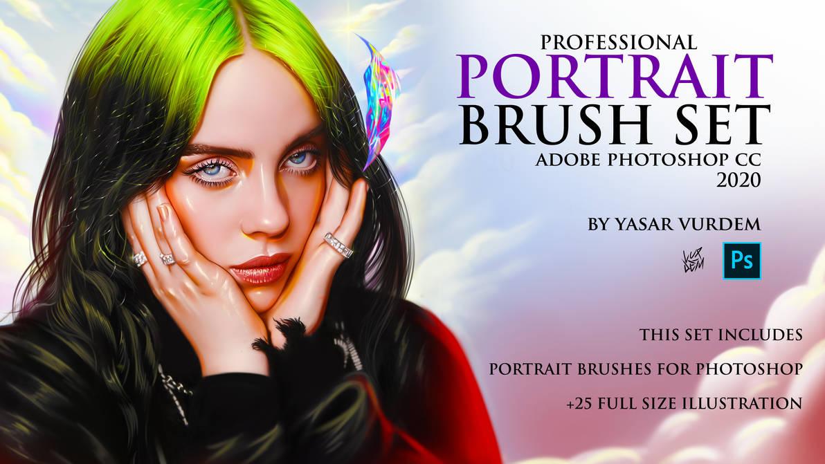 Portrait Brush Set for Photoshop