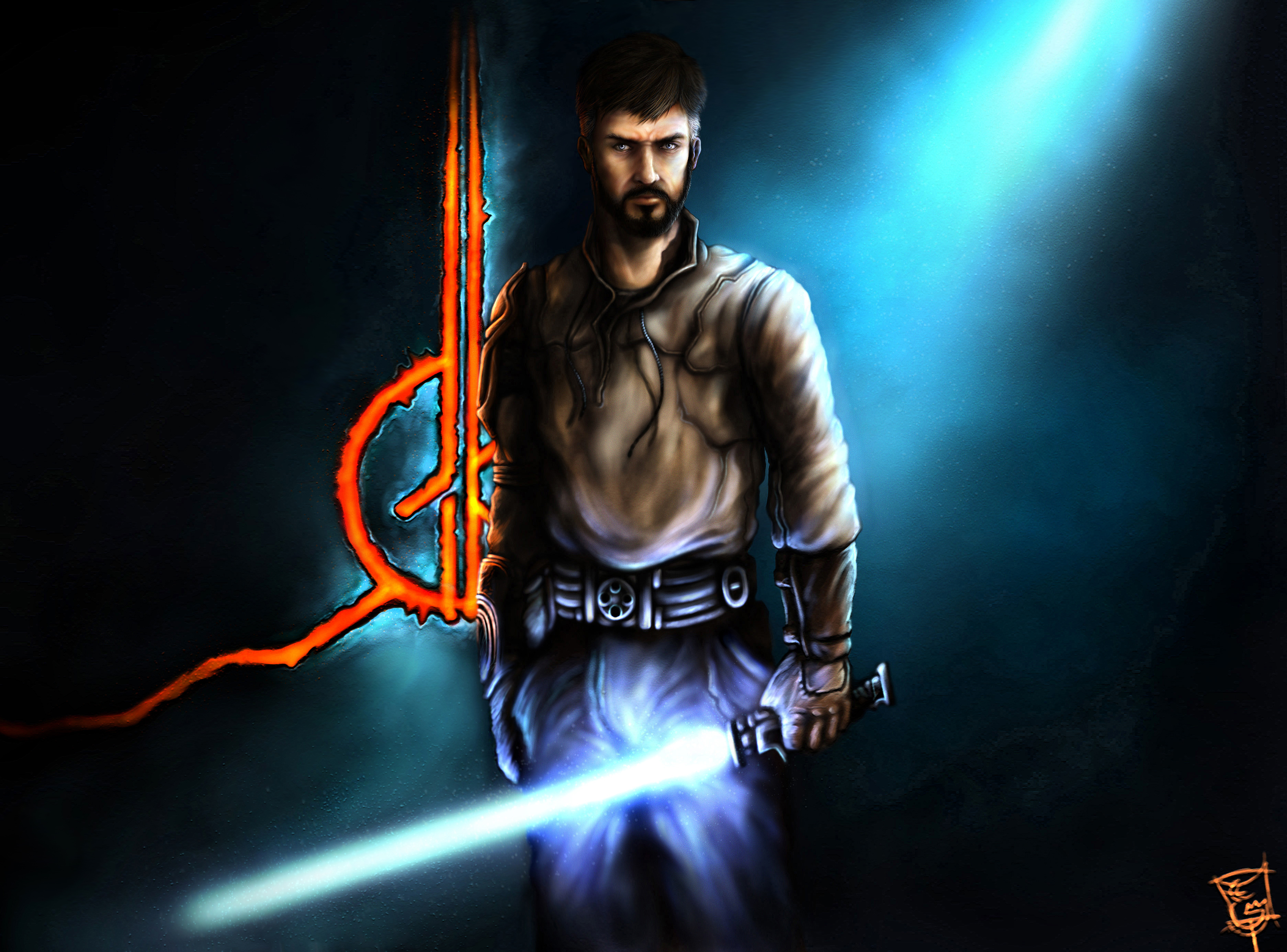 Jedi Knight Kyle Katarn By Thegameworld On Deviantart