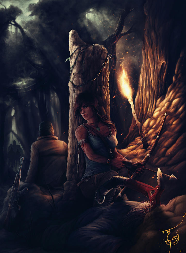 Survivor Tomb Raider by thegameworld
